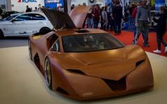 Essen Motor Show 2015 - Splinter / Auto aus Holz