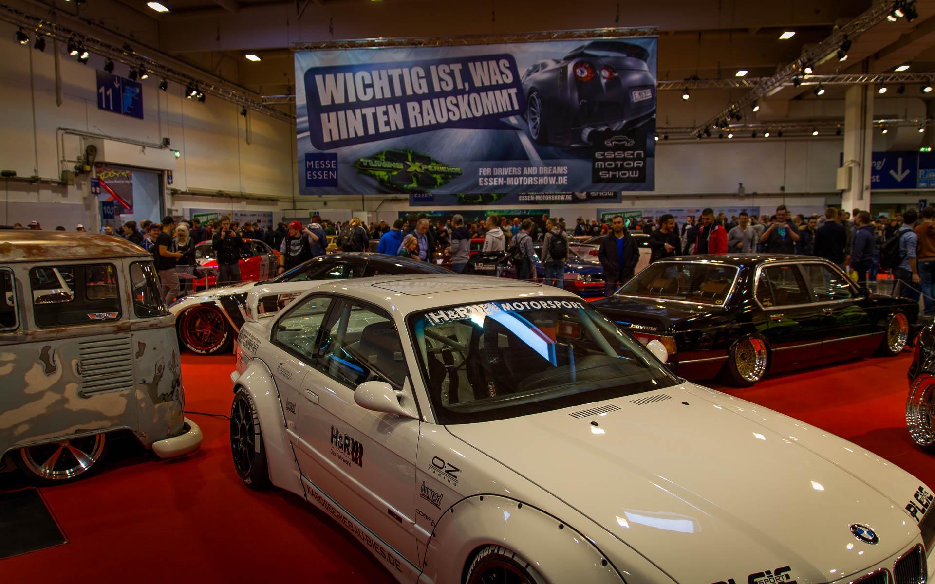 Essen Motor Show 2015 - Publikum