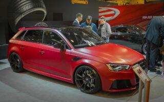 Essen Motor Show 2015 - Audi Abt RS3
