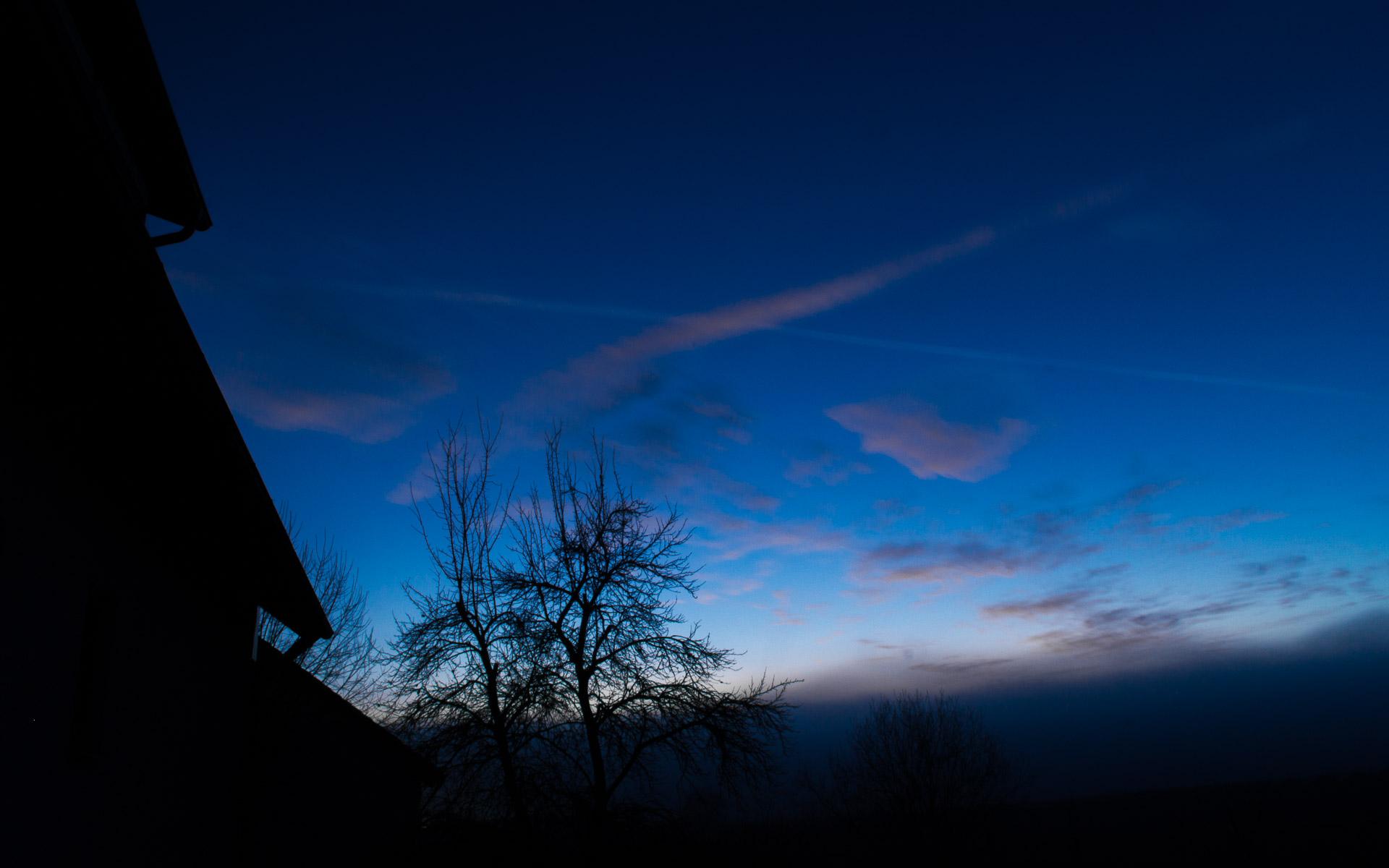 Blauer Himmel über Grafenwöhr