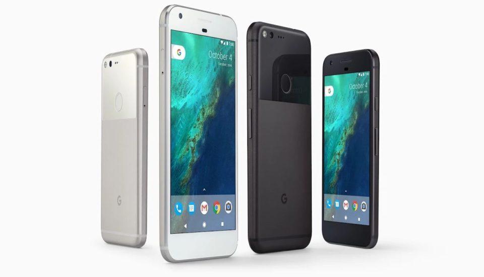 Google Pixel Smartphone Black & White